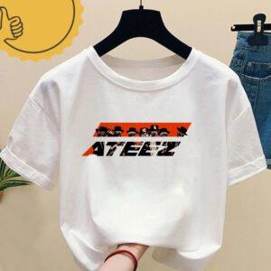 ATEEZ T-shirt Multi Prints