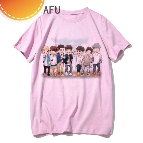 Got7 kawaii t-shirts ulzzang