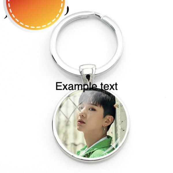 Monsta X photo keychains