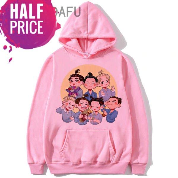 got7 harajuku hoodies