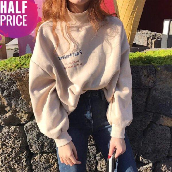 kpop turtleneck sweatshirts