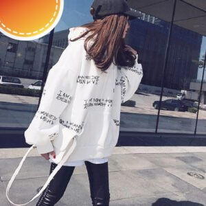 kpop hooded pullovers for autumn winter