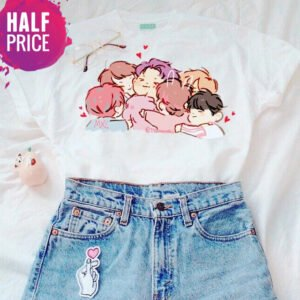 BTS Members Kawaii T-Shirts