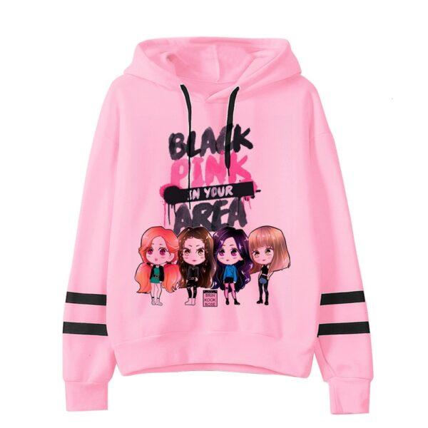 blackpink hooded sweatshirts