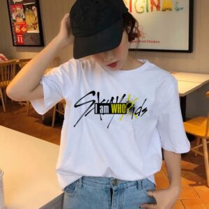 stray kids short sleeve t-shirts