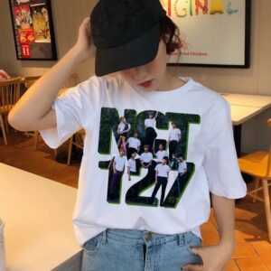 NCT T-Shirts Multi Logo Collection