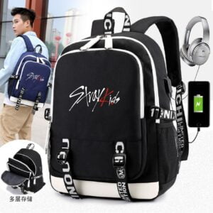 stray kids backpacks multifunction