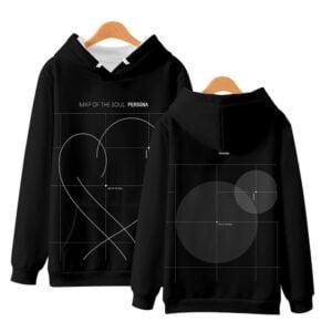 bangtan boys 3d print hoodies