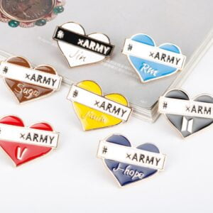 kpop brooches