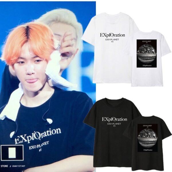 exo tour t-shirts