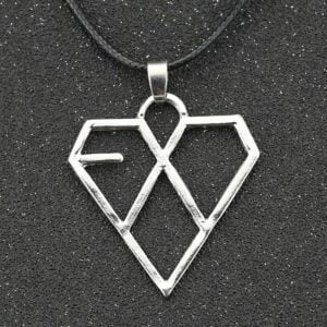 EXO Necklace Silver Logo