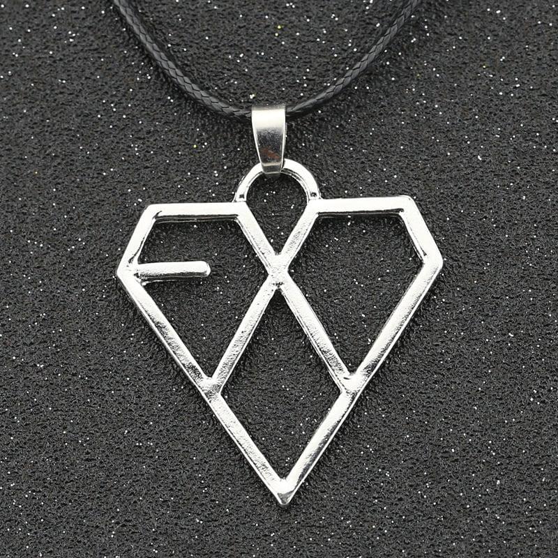 EXO Necklace Silver Logo