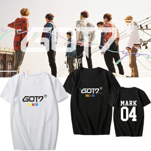 got7 eyes on you t-shirts