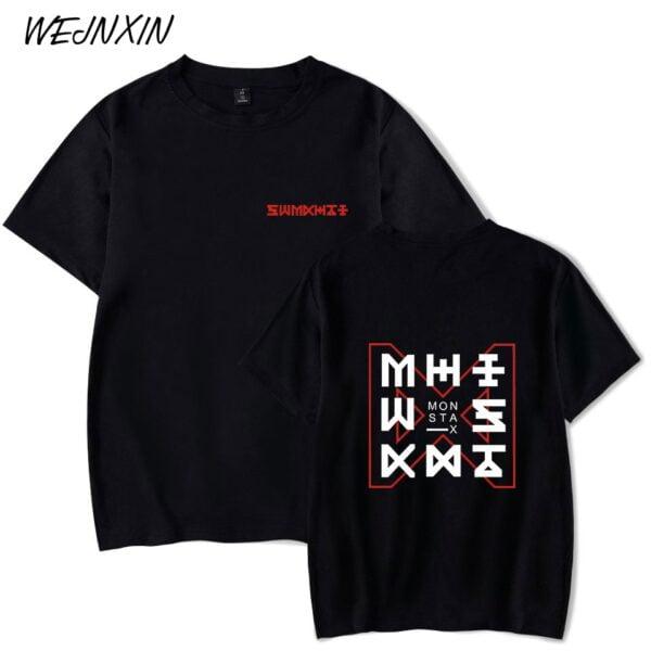 monsta x summer sleeve t-shirts