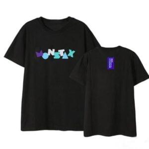 monsta x concert t-shirts