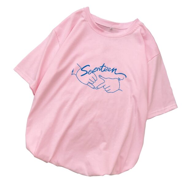 seventeen kawaii t-shirts