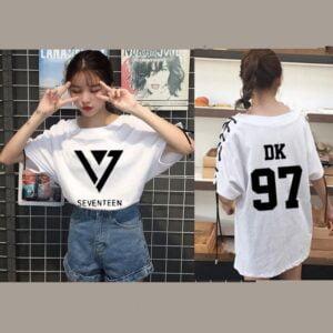 seventeen 17 t-shirt
