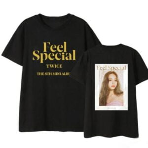 twice feel special t-shirts