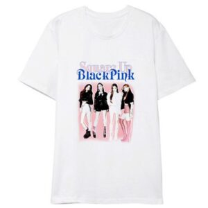 blackpink o-neck t-shirts
