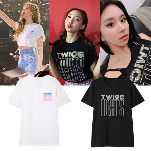 twice lights album t-shirts