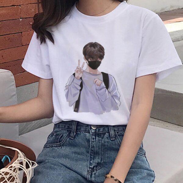 bts bulletproof youth kawaii t-shirts
