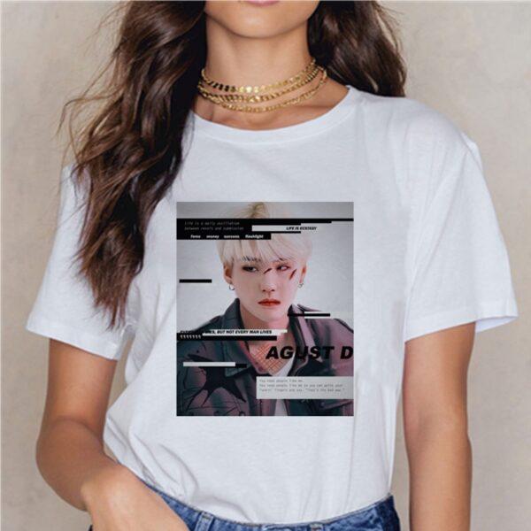 bts agust d t-shirts