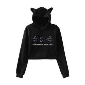 txt cat ears hoodie