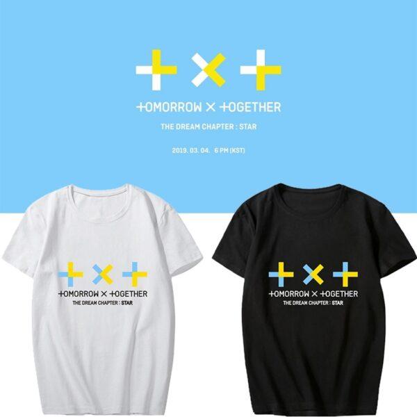 txt tomorrow x together t-shirts