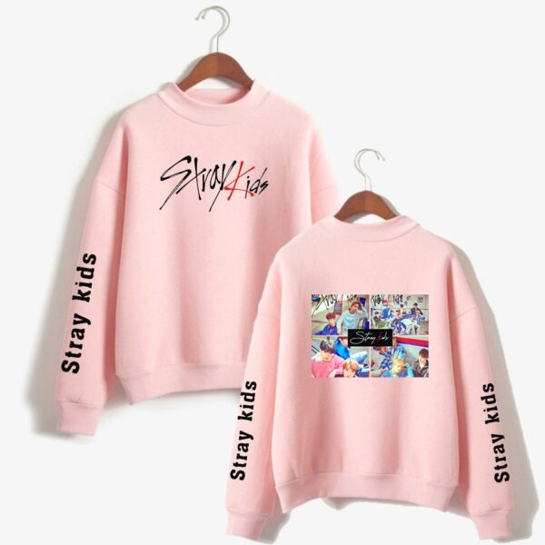 stray kids turtleneck pullovers