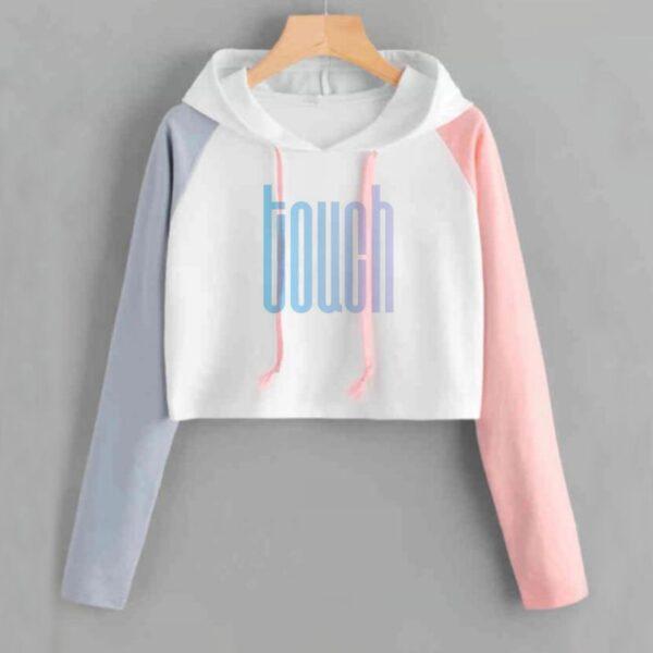 nct 127 crop top hoodies