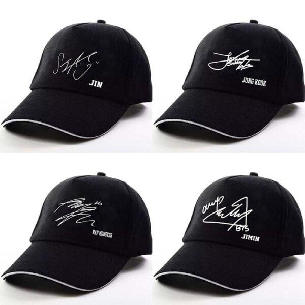 bangtan boys army signature hats