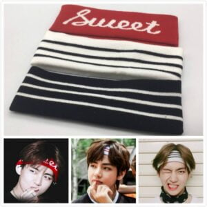 bts taehyung headbands