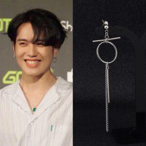 kpop idol hip hop earrings