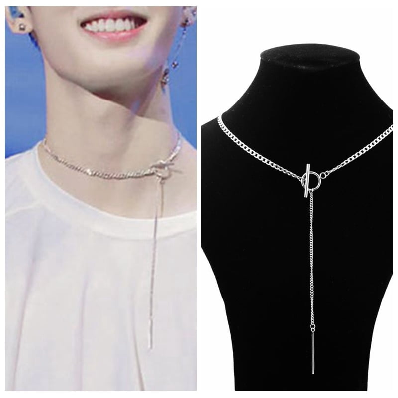 kpop idol necklace