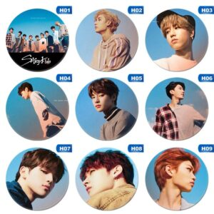 stray kids badges