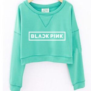 BLACKPINK Kawaii Neck Sweatshirts