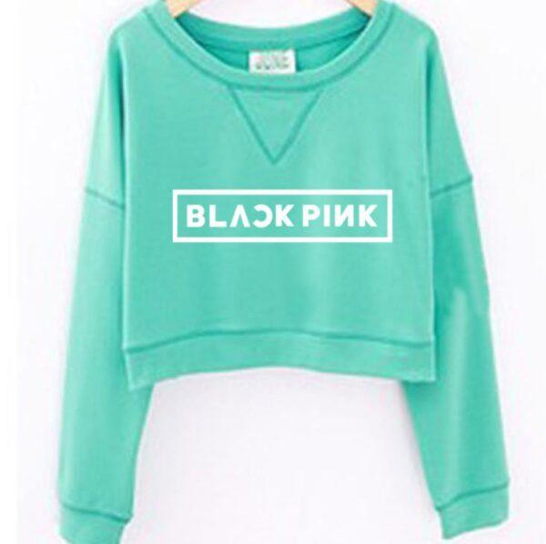 BLACKPINK Kawaii Neck Sweatshirts