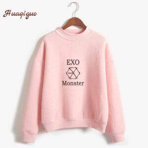 exo harajuku casual hoodies