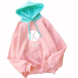 exo hoodie sweatshirts women