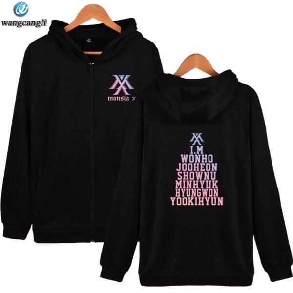 monsta x idol hoodies
