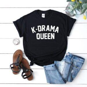 K-drama queen t-shirts
