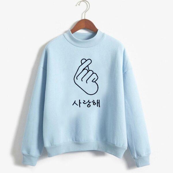 got7 hangul sweatshirts