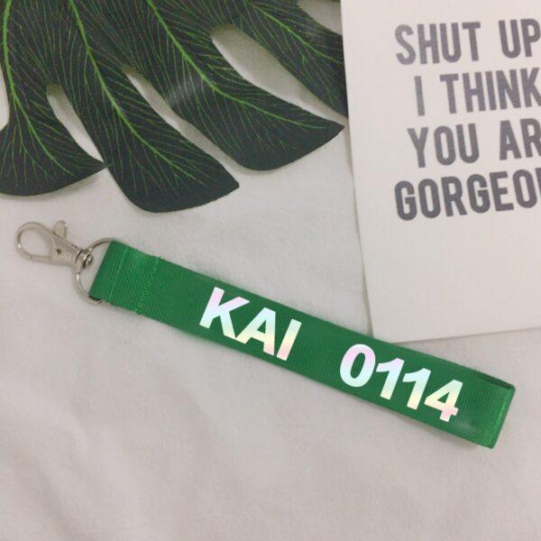 Exo key straps of all idols