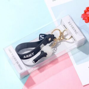 Kpop Keychain with pendant light
