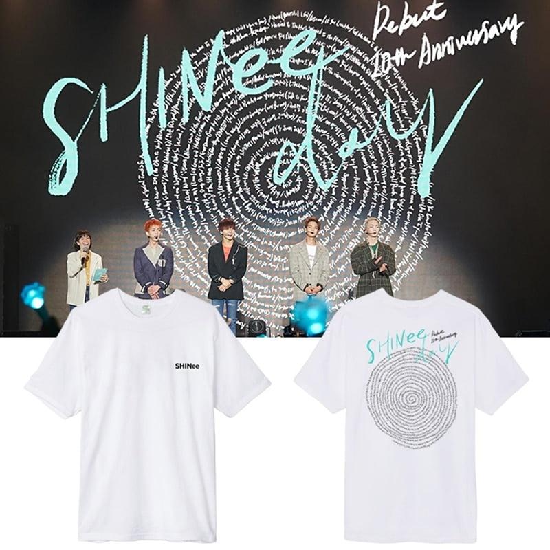 shinee 10 year anniversary t-shirts