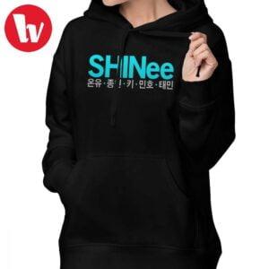 Shinee hoodies harajuku