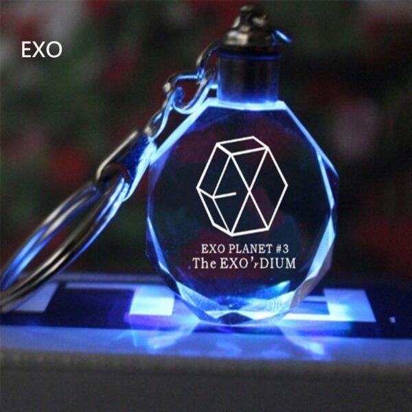 exo crystal keychain