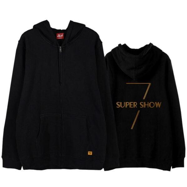 Super Junior Zipper Hoodies