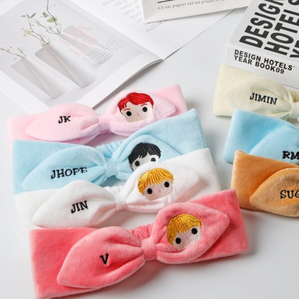 BTS Members Official Kawaii Hair band