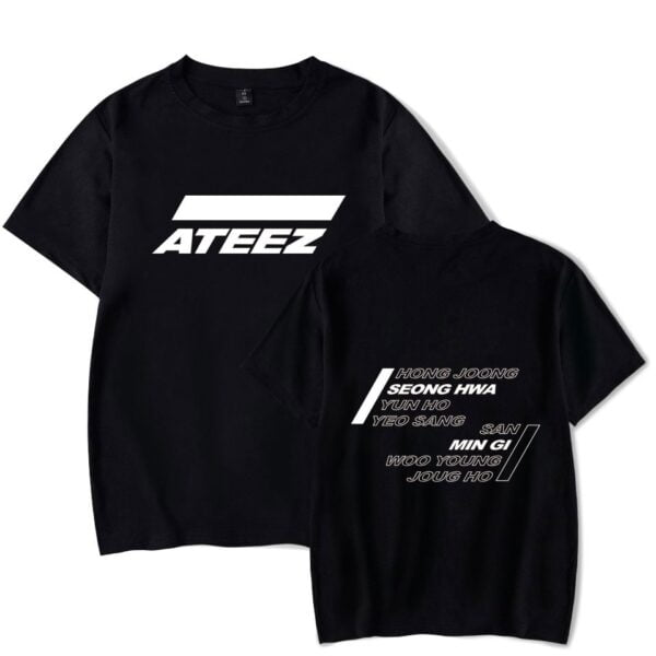 ateez t-shirts collection